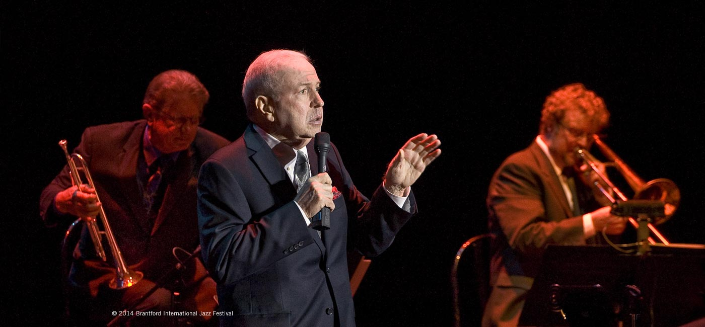 Frank Sinatra Jr. appearing at the Brantford International Jazz Festival