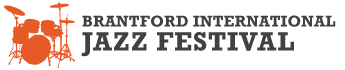 The Brantford International Jazz Festival Logo