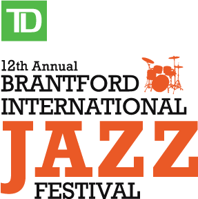 Logo of the TD Brantford International Jazz Festival