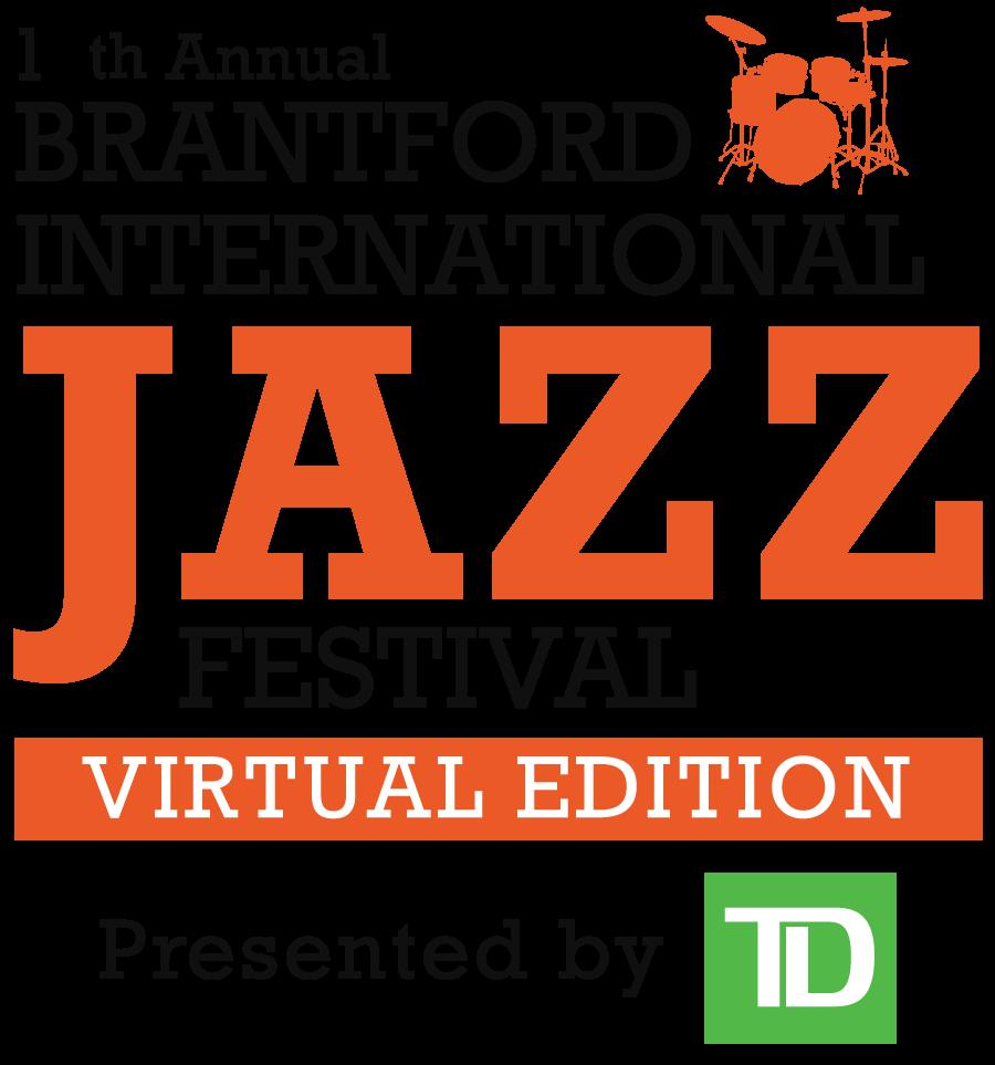 Logo of the TD Brantford International Jazz Festival